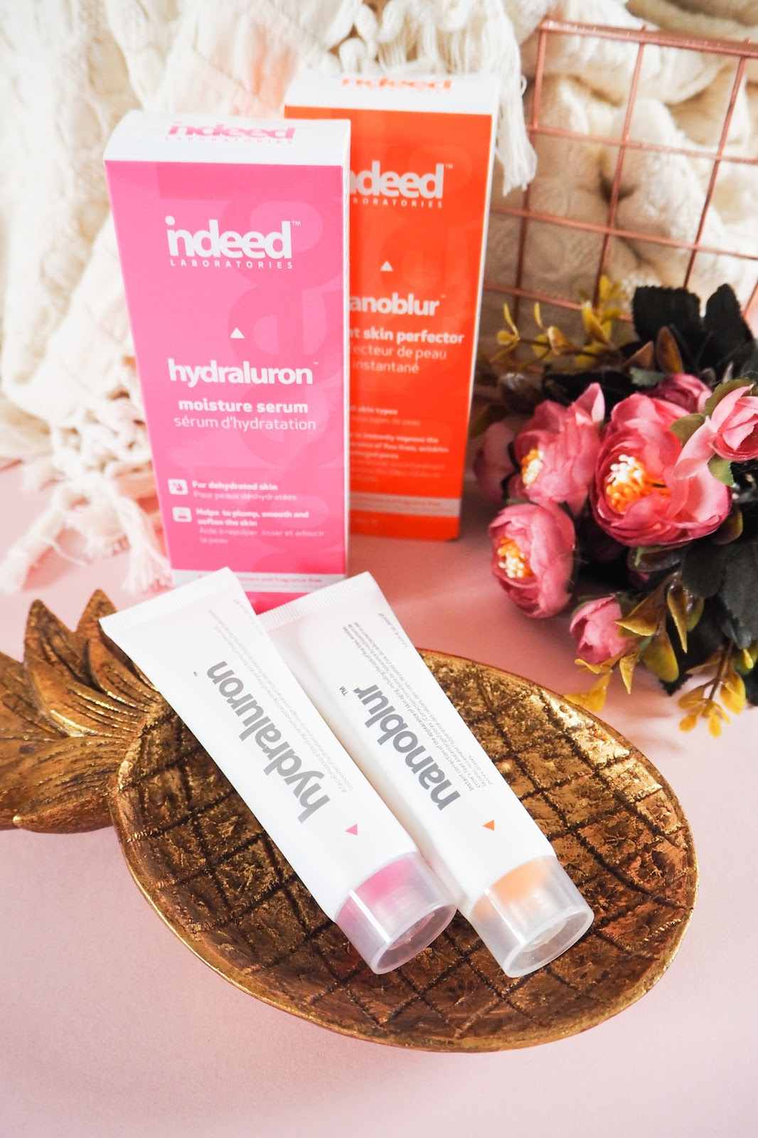 Indeed Labs Nanoblur Instant Skin Perfector and Hydraluron Moisture Serum Review