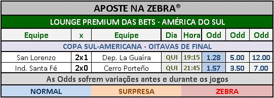 LOTECA 720 - GRADE BETS AMÉRICA DO SUL 03