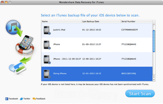 iPhone Data Recovery for iOS