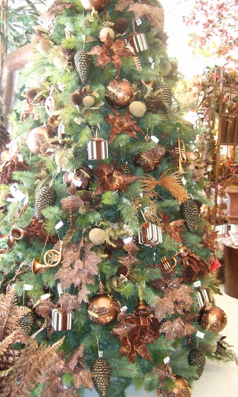 Feather Christmas Tree Decorations