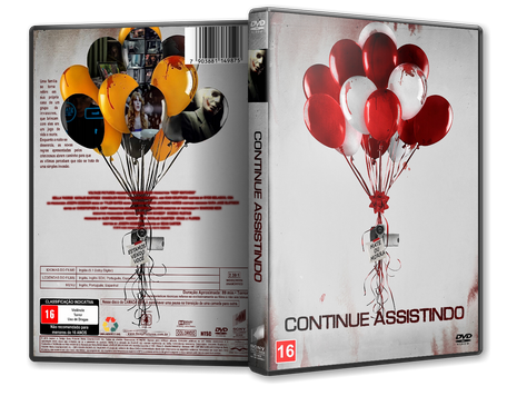 Capa DVD Continue Assistindo [Custom]