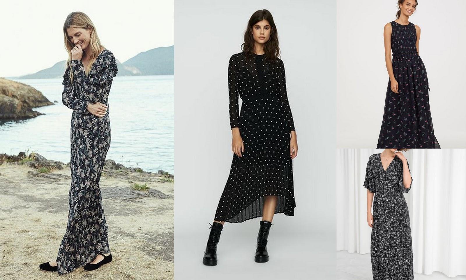 The capsule wardrobe: the maxi dress essentials