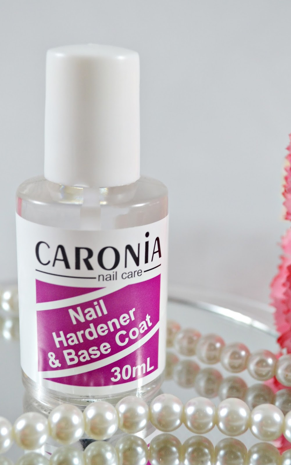 Caronia: Nail Hardener and Base Coat | All About Beauty 101