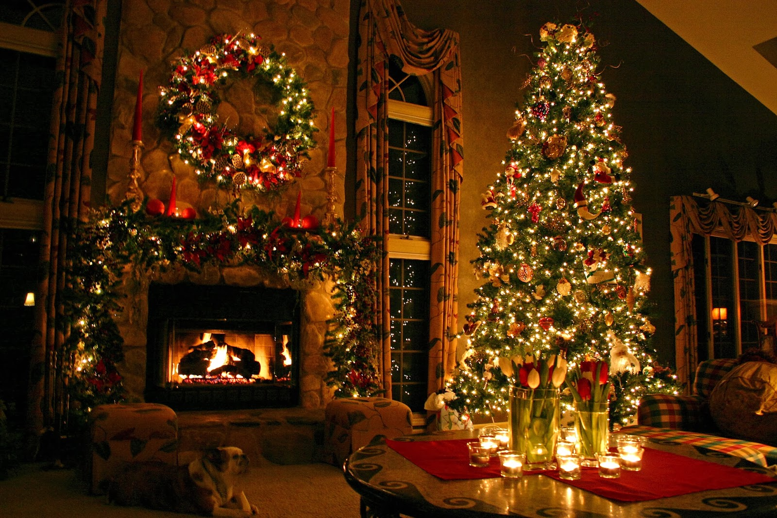 Christmas Tree HD Wallpaper - HD Wallpapers Blog