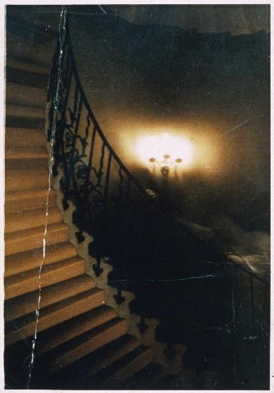 spooky things staircase 39 ghost 39 picture. Black Bedroom Furniture Sets. Home Design Ideas