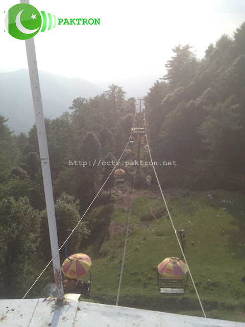 Cable Car and Chair Lift Murree Pakistan