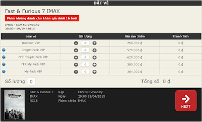 Lộ giá vé tại rạp chiếu phim IMAX đầu tiên tại Việt Nam