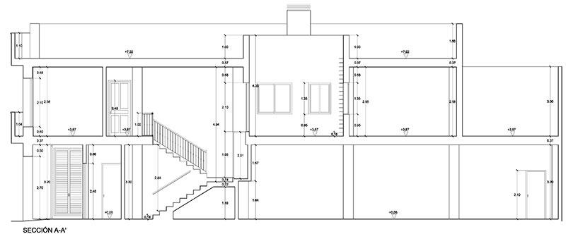 Estudio Honorio Aguilar - edificio Dos Hermanas