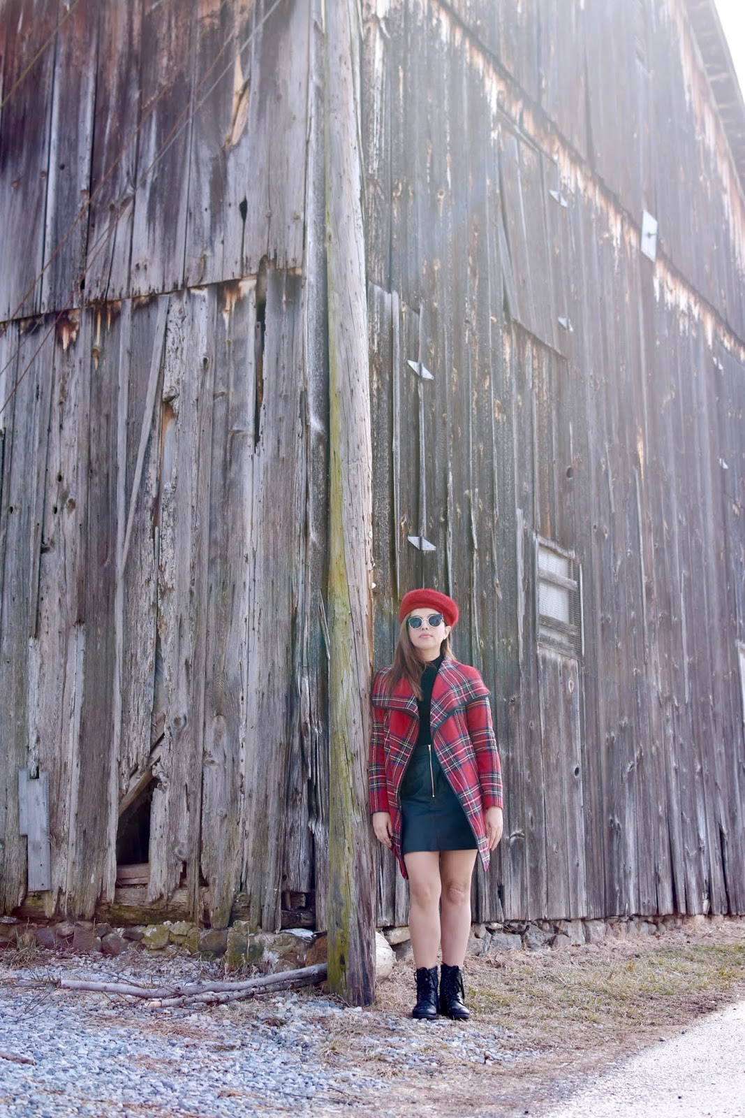 Plaid Waterfall Outerwear by Mari Estilo-sheIn-Fashionblogger-modaelsalvador-dcblogger-