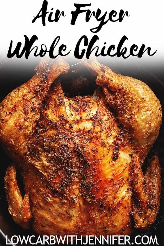 Air Fryer Whole Chicken