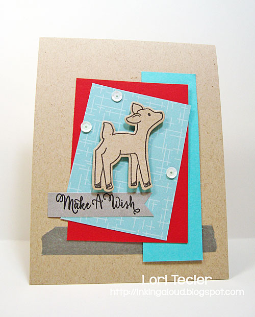 Make a Wish card-designed by Lori Tecler/Inking Aloud-stamps and dies from Avery Elle
