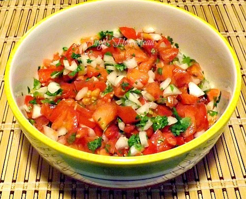 Home Sweet Homestead: Pico de Gallo