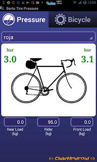 Presion rueda bici carretera o clásica