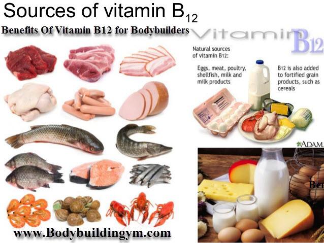 Vitamin B12 for Bodybuilders