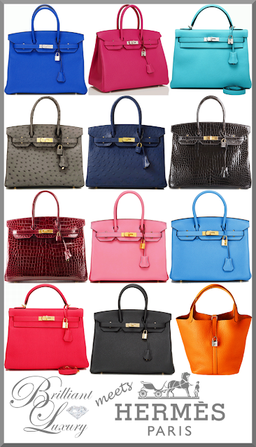 Brilliant Luxury ♦ Hermès timeless design bags