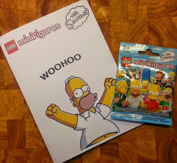 The LEGO Simpsons Minifigures release