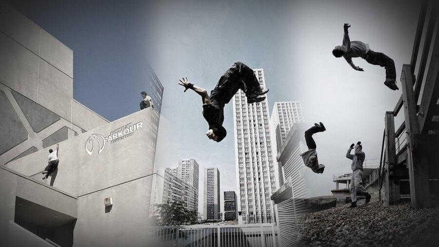 Qeai Artblog: Parkour, urban art extreme sport