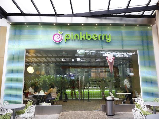 Pinkberry Greenbelt 5 store facade