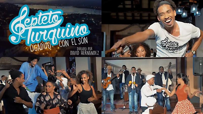 Septeto Turquino - ¨Ligaditos con el Son¨ - Videoclip - Dirección: David Hernández. Portal Del Vídeo Clip Cubano