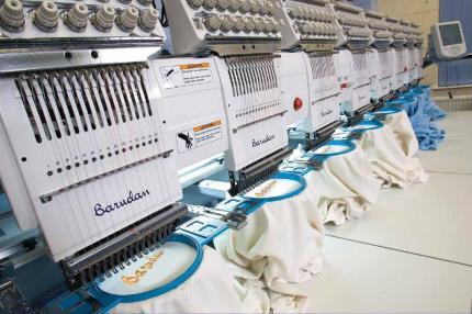 Mesin bordir komputer Surabaya merk Barudan