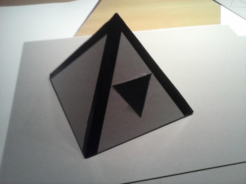 das pyramiden effekt experiment vorbereitung des. Black Bedroom Furniture Sets. Home Design Ideas
