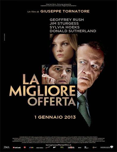 La migliore offerta (La mejor oferta) (2013)
