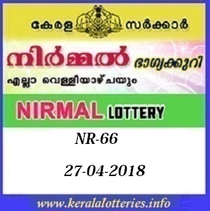 NIRMAL NR-66 LOTTERY RESULT