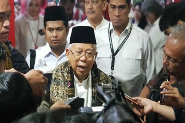 Ma'ruf Amin: Ormas Paling Ditakuti di Indonesia itu NU