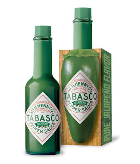 Empaque muy creativo de salsa tabasco