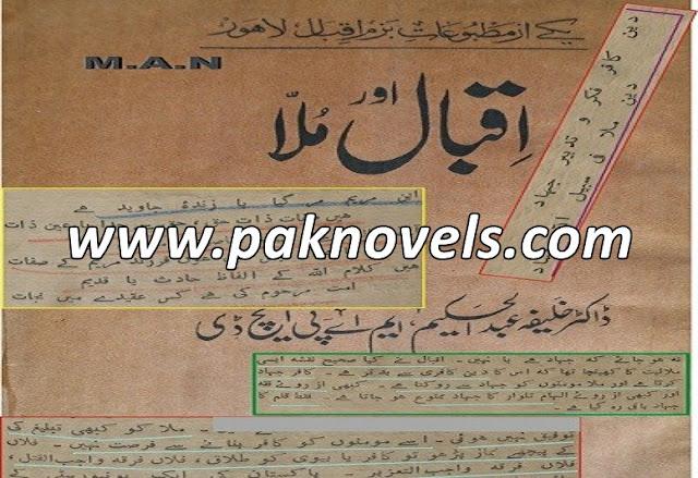 Iqbal Aur Mulla Urdu Book By Dr Khalifa Abdul Hakeem
