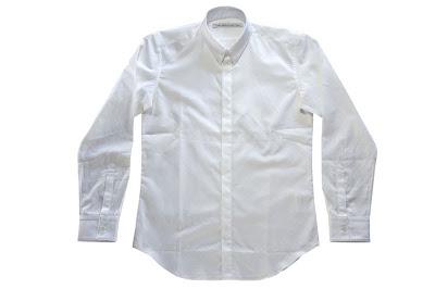 JOHN LAWRENCE SULLIVAN [ ドレスシャツ ] WHITE