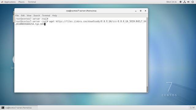 Arduino ,Linux, Oracle database and electronic Help: Zimbra