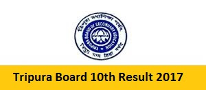 Tripura Board 10th Result 2017