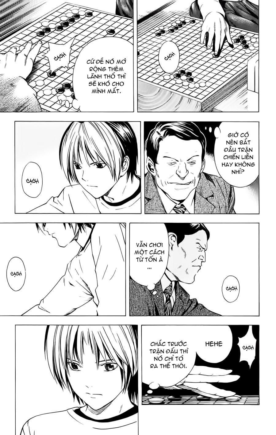 Hikaru No Go hikaru no go chap 153 trang 4