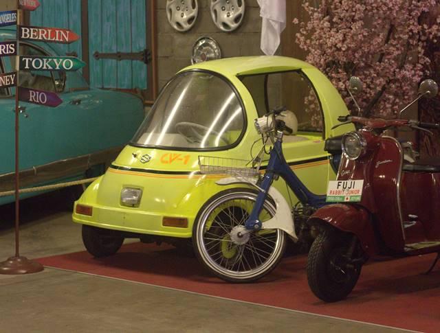 Suzuki CV 1 - Bukan Mobil Mainan Biar Kapasitas Mesinnya Lebih Kecil Dari Motor Supra Fit - Museum Angkut Malang #7