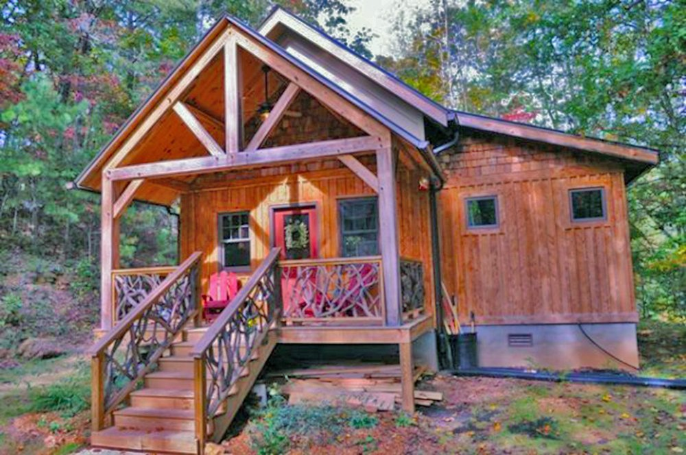 The Little Living Blog: Timber Frame Cabin Kits