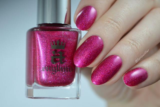 into the rose garden swatch a england holographic