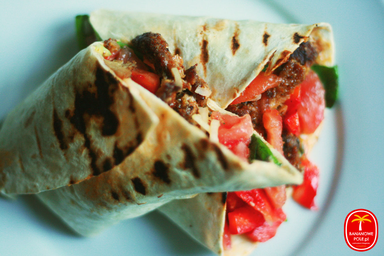 Wegański kebab / gyros