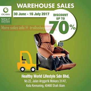 Ogawa Warehouse Sales 2017