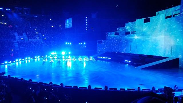 Intimissimi On Ice 2016 all'Arena di Verona con Andrea Bocelli, Carolina Kostner, Evgeni Plushenko, Stephane Lambel e Kiira Korpi