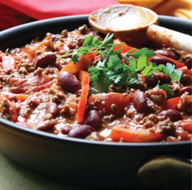 Pressure King Pro Recipes:  Chilli Con Carne