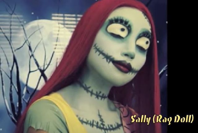 maquillaje The Nightmare Before Christmas