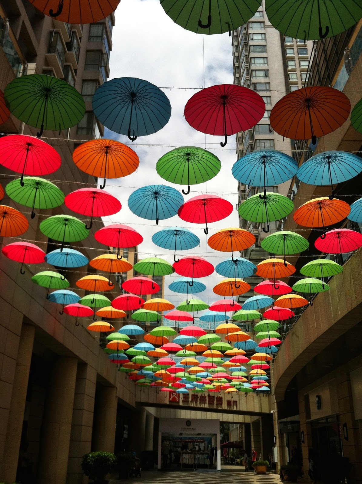Umbrellas in Kunming