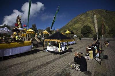 Upacara Adat Kasada di Gunung Bromo