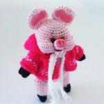 patron gratis cerdo amigurumi | free pattern amigurumi pig