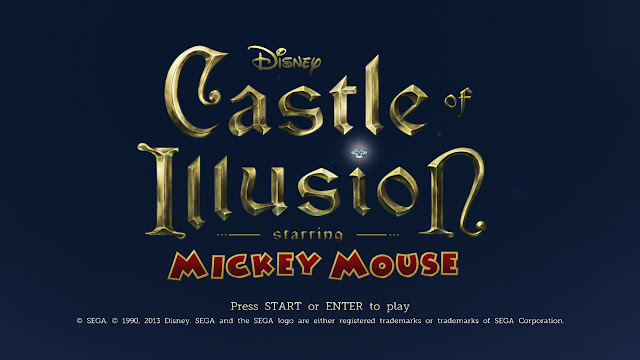 Castle of Illusion Starring Mickey Mouse Remake Title Screen PC