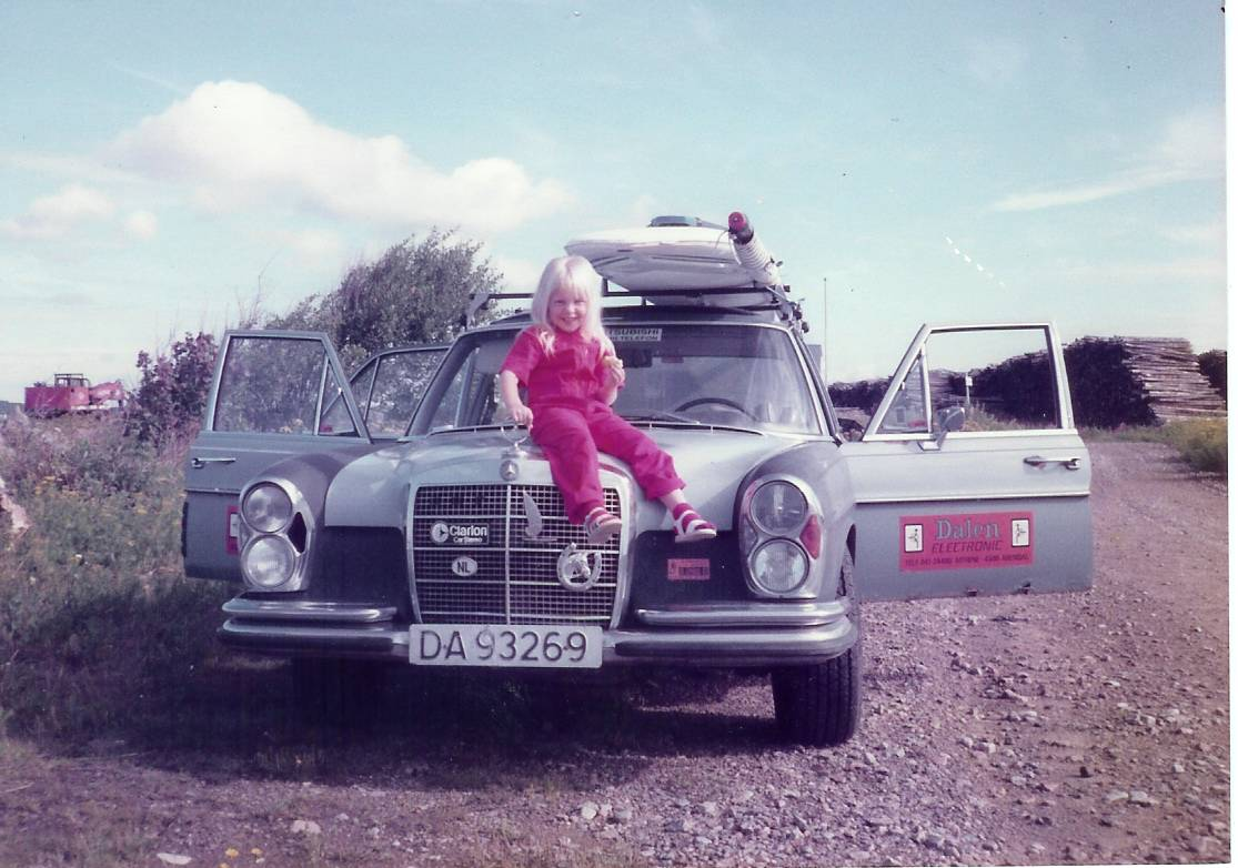 My Mercedes 280 SE My Angel Angelita