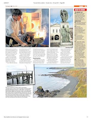 Ireland's storied coast Pg. 59 Toronto Sun. Photograph by Janie Robinson, Travel Writer