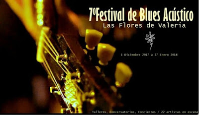 VII Festival de Blues Acustico Las Flores de Valeria