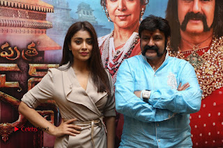 Shriya Saran Nandamuri Balakrishna at Gautamiputra Satakarni Team Press Meet Stills  0195.JPG